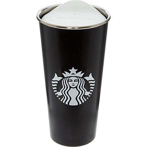 Starbucks Trinkbecher aus Edelstahl - Schwarz
