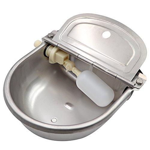 M.Z.A Rindertränke Wassertränke Automatischer Trinknapf mit Schwimmerventil für Hund Pferd Rind Ziege Schaf
