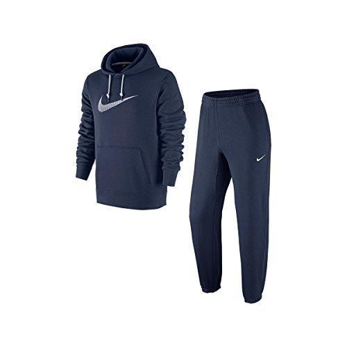 nike-mens-tracksuit-fleece-jog-suit-club-swoosh-hooded-classic-jogsuit-black-grey-navy-s-m-l-xl-new-