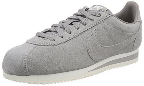 Nike Classic Cortez Nylon, Zapatillas de Gimnasia para Hombre, Gris (White/Gym Blue 102), 41 EU