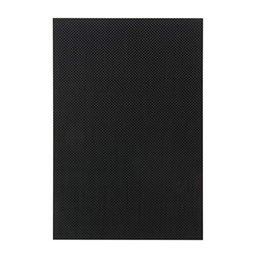 DIAMOEN Carbon-Faser-Platte Panel-Blatt 3K Plain Weave Carbon-Faser-Platte 200x300x3mm -