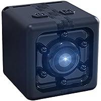 Teepao Mini Video Cámara oculta, 1080P portátil pequeña HD Nanny Cam con visión nocturna y detector de movimiento, perfecta cámara de seguridad para interior y oficina