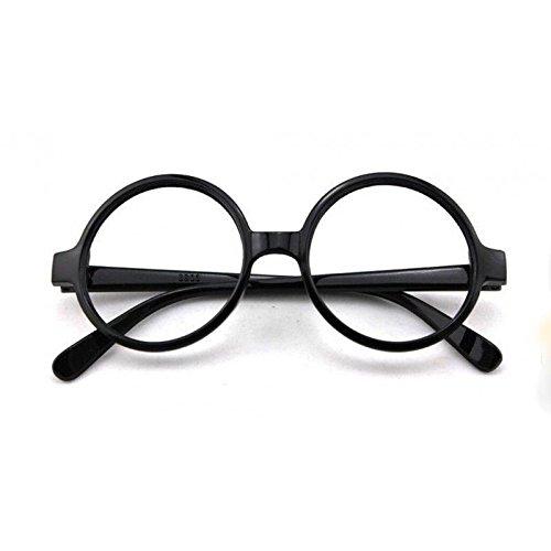 ALANNAHS ACCESSORIES Zauberer Geek Runde Brille Harry Potter Buch Woche Wally Fancy Dress up
