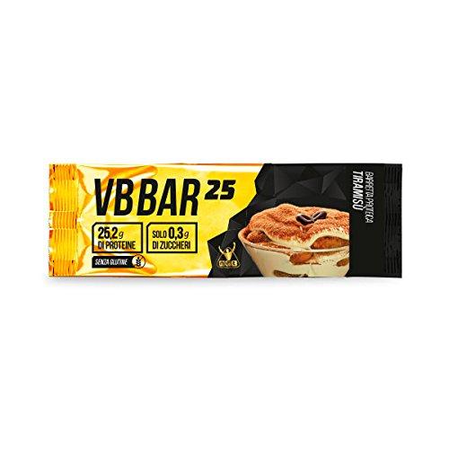 VB Bar 25 Protein Bar NET box 24x50g. gusto Tiramisù