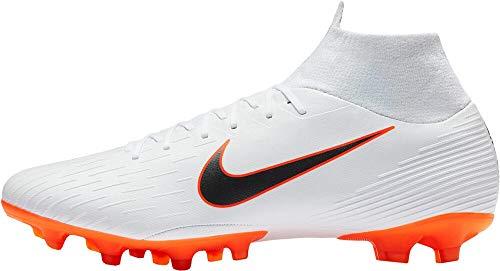 Nike Herren Mercurial Superfly VI AG-Pro Fußballschuhe, weiß, 42 EU