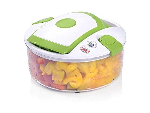 Genius Salat Chef Smart Set 6-tlg. Salat Obst Gemüse Schneider Schäler Hobel NEU, Farbe:orange - 4