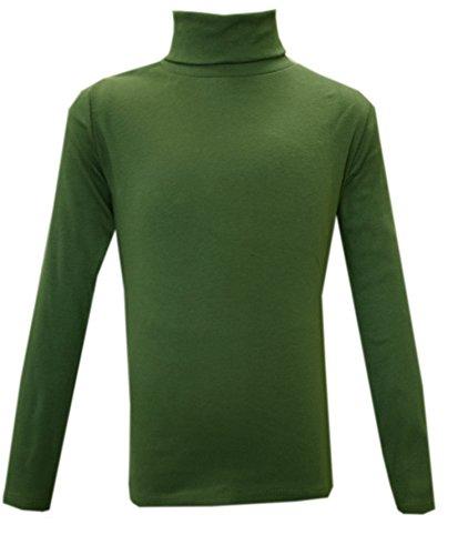 Panzy® - Camiseta de manga larga - para niña multicolor verde oliva