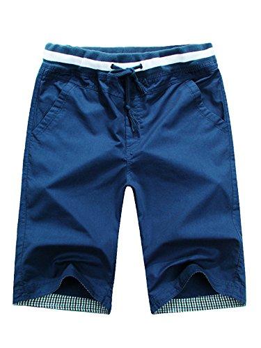Soixante -  pantaloncini - basic - uomo bleu foncé xl