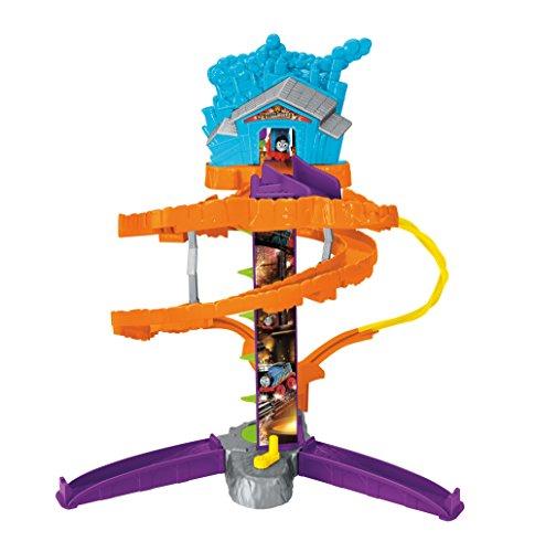 Thomas & Friends FGR17 Minis Steelwork Stunt Set, Thomas the Tank Engine Minis Toy Train Set