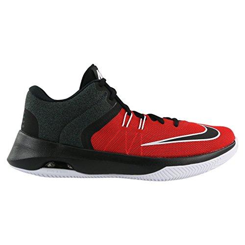 Nike Herren Air Versatile II Rot Mesh Basketballschuhe 45