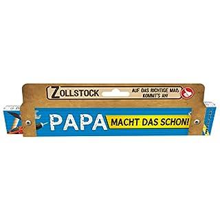 Zollstöcke passend zu jedem Anlass Papa Männer Geschenke zum Geburtstag Männergeschenke (Zollstock Papa macht das schon 30042)