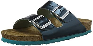 Birkenstock arizona leder softfootbed ciabatte donna for Ciabatte birkenstock amazon