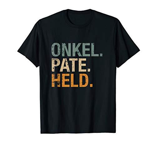 Herren Onkel Pate Held T-Shirt Geschenk für