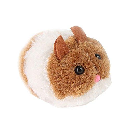 URIJK Katzenspielzeug Vibrierende Maus Katze mit Quietscher Spielzeug Elektrische Maus Lustige Katze Spielzeug