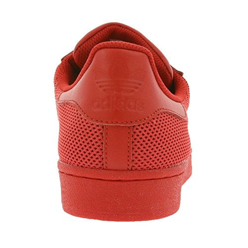 adidas Superstar, Scarpe da Ginnastica Basse Uomo Rot