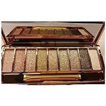TOOGOO Maquillage Ombre a Paupieres Fard a paupieres a 9 Couleurs Impermeable pour les femmes Palette avec Brosse 6 #