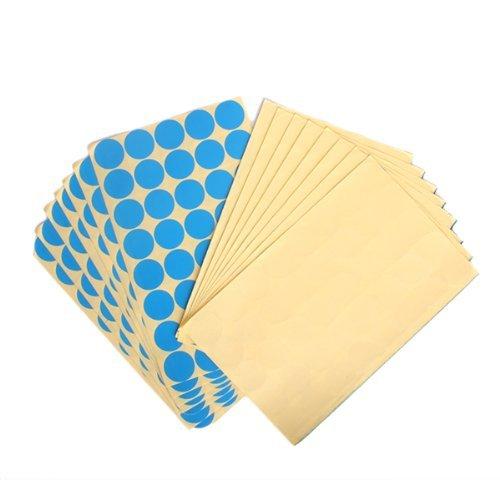 TOOGOO(R)25mm Autocollants d'etiquettes Ronds de Couleur Lumineuse