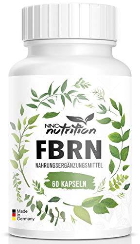 Abnehmen - F-BURN - hochdosierte Kapseln mit Glucomannan - Hergestellt in Deutschland - NNC Nutrition