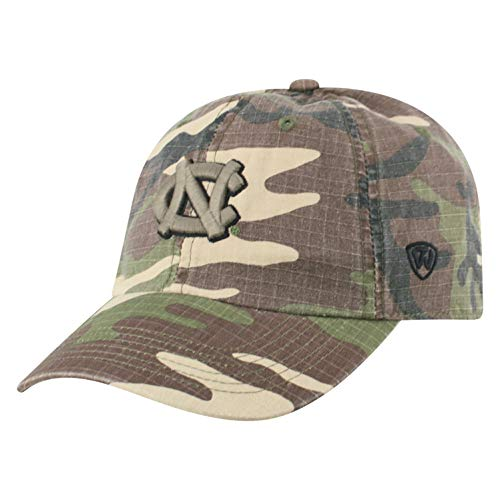 newest collection f7811 63b63 Top of the World NCAA North Carolina Tar Heels Men s American Hero s  Adjustable Icon Hat,