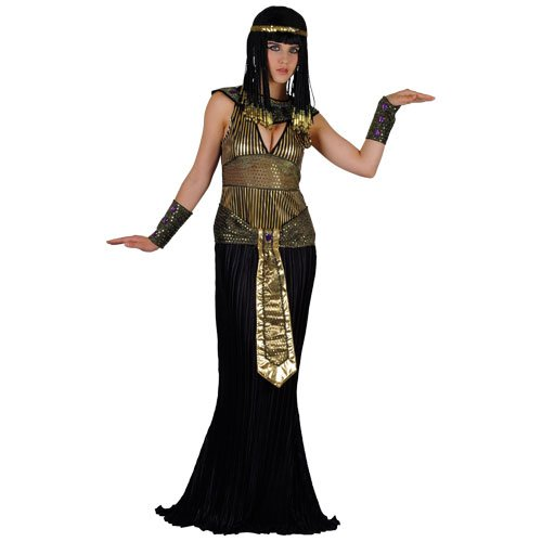 QUEEN CLEOPATRA EGYPTIAN LADIES COSTUME FANCY DRESS UP PARTY (Womens Queen Of The Nile Kostüme)