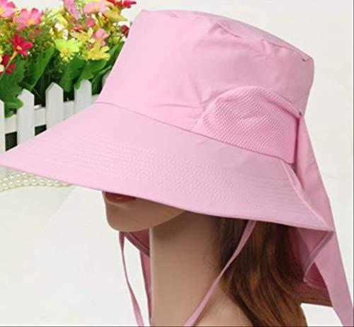 Women Es Hats Summer Big Brim Hat Faltbare Mesh Breathable Sun Hat Fashion Uv Proof Beach Hat Quick-Cut Female Caps Pink Purple