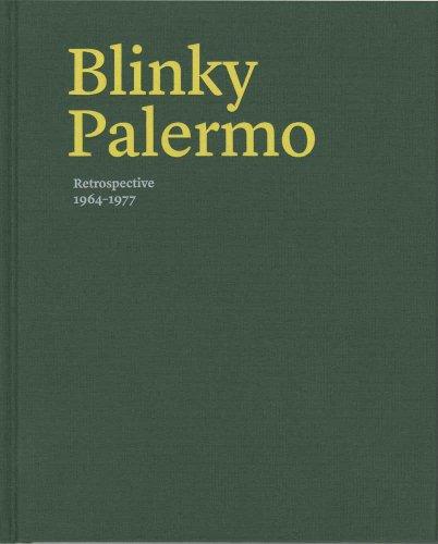 Blinky Palermo: Retrospective 1964-77 por Benjamin H. D. Buchloh