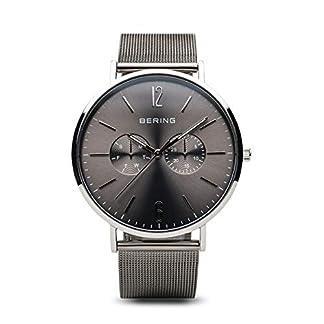 BERING Reloj Analógico para Hombre de Cuarzo con Correa en Acero Inoxidable 14240-308