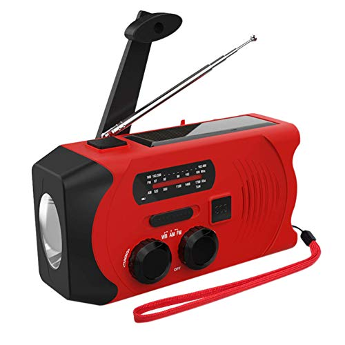 FzJs-J-in Notfall SOS Alarm Wetter Radio Handkurbel
