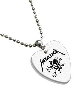 Metallica Love Heart Guitar Pick Collier