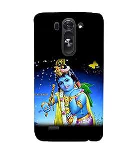 printtech Lord God Krishna Janmashtami Back Case Cover for LG G3 Beat::LG G3 Vigor::LG G3s::LG g3s Dual