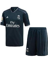 44fcbbee2b6cf adidas 18 19 Real Madrid Away Kit-Lfp Badge Conjunto
