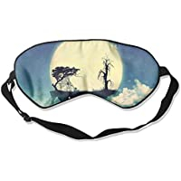 Sleep Eye Mask Moon Abstract Lightweight Soft Blindfold Adjustable Head Strap Eyeshade Travel Eyepatch E16 preisvergleich bei billige-tabletten.eu