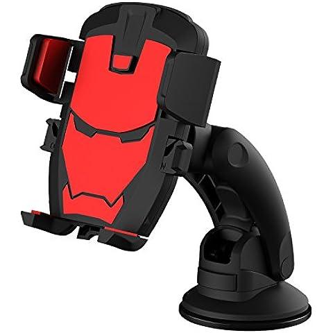 Cellphone Mount vesany supporto per cruscotto/parabrezza auto con rotazione a