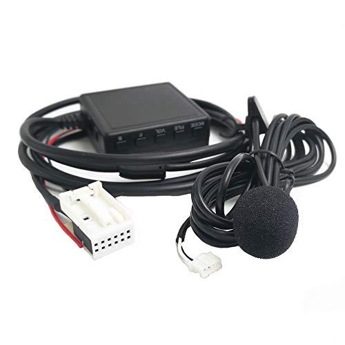 Bluetooth AUX Adapter mit Mikrofon für Volkswagen RCD210 RCD300 RCD310 RCD510 RSN300 RNS 310