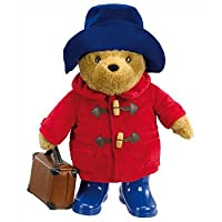 Classic Paddington Bear Large Paddington with Boots and Suitcase 36cm