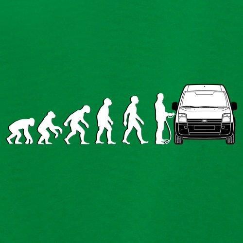 Evolution of Man - Transit Fahrer - Damen T-Shirt - 14 Farben Grün