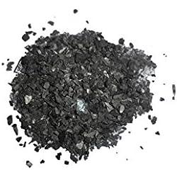 CARBOGARDEN Pflanzenkohle aus Deutschland, gemäß FiBL für den ökologischen Landbau zugelassen, ideal zur Kompostierung oder Terra Preta Herstellung in Premium Qualität, 5 Liter