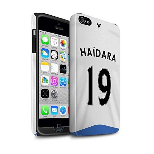 Offiziell Newcastle United FC Hülle / Glanz Harten Stoßfest Case für Apple iPhone 4/4S / Pack 29pcs Muster / NUFC Trikot Home 15/16 Kollektion Haïdara