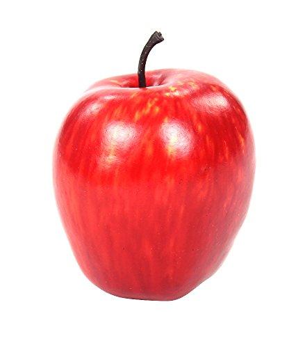 Deko Früchte Apfel klein 4 Stück