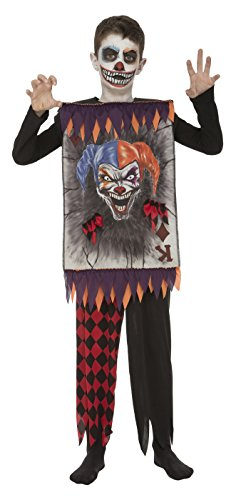 My Other Me - Disfraz clown card para niño, 10-12 años (Viving Costumes 203996)