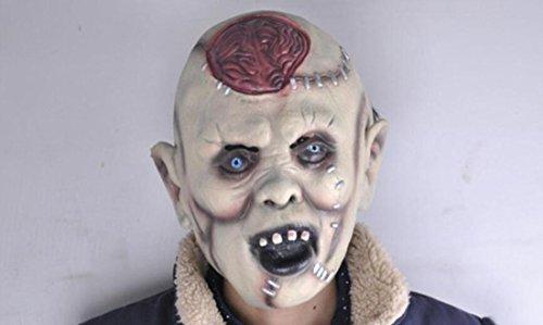 JJH-ENTER Maske Halloween Bar Dekoration Requisiten Terror Lantou Umweltschutz Emulsion Teufel Maske (Erwachsenen Löwe Gesichts Maske)
