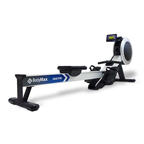 Bodymax Infiniti R100 Super Rowing Machine - Grey