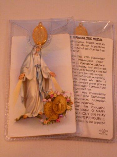 T&I Wundertätige Medaille ~ Gebet Karte und Medaille - Medaillen Maria Von
