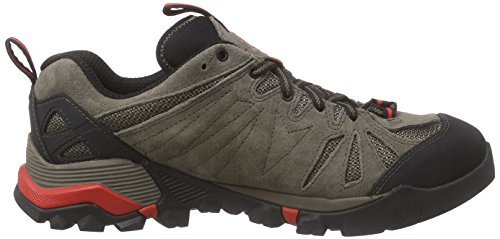 Merrell Capra Gore-Tex, Chaussures de Randonnée Basses Homme Marron (Boulder)