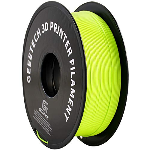 GEEETECH Filament PLA 1.75mm, 3D Drucker PLA Filament 1kg Spool (Apple Green)