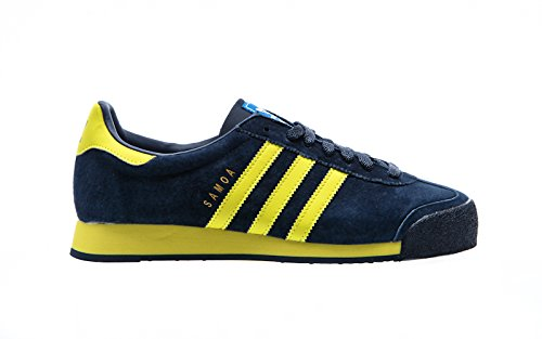 adidas Originals Samoa VNTG, collegiate navy/bright yellow/bluebird, 8