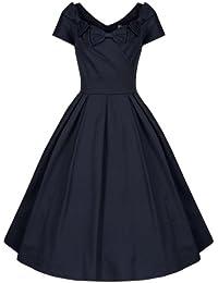 Lindy Bop 'Belina' Vintage 1950's Dolce Vita Italian Style Robe évasée Dress