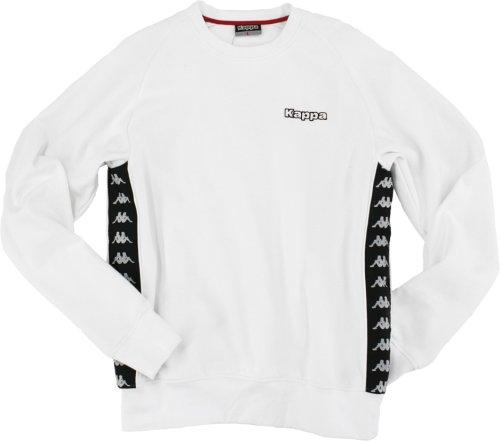 kappa-herren-sweatshirt-poldi-white-xl