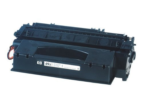 HP ORIGINAL Q5949X 49X Toner schwarz 6000Seiten fuer Laserjet LJ1320 1320n 1320nw 1320t 1320tn 3390 3392 (49x Toner)