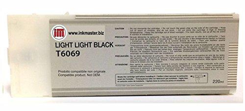 Ink Master - Cartouche Compatible EPSON T6069 LIGHT LIGHT BLACK pour Epson Stylus Pro 4800 4880